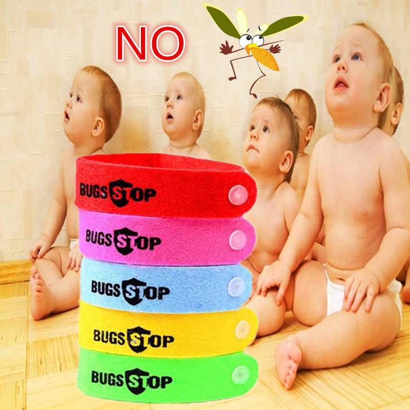 5/10Pcs Milieuvriendelijk Anti Mosquito Polsband Mosquito Insect Bugs Repellent Armband Veilig Voor Kinderen Thuis Outdoor Pest killer