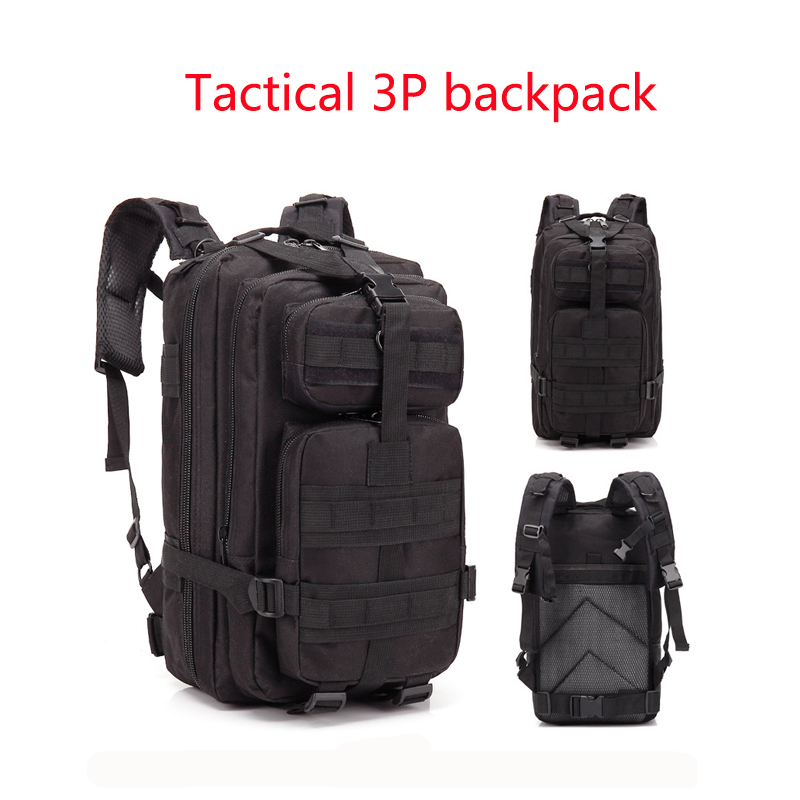 Camouflage Backpack Outdoor Sports Upgraded 3P Bag Camouflage Backpack Tactical Backpack Outdoor Camping Travel