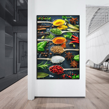 Various Herbs and Spices Canvas Art Posters And Prints Kitchen theme Art Canvas Paintings on the Wall Art Pictures For Kitchen kitchen theme wall poster and prints various seasonings canvas art paintings on the wall canvas art pictures cuadros decoration
