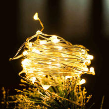 YINUO LIGHT 1M 2M Copper Wire LED String lights Holiday Lighting Waterproof Fairy Garland Light for Christmas Wedding Decoration