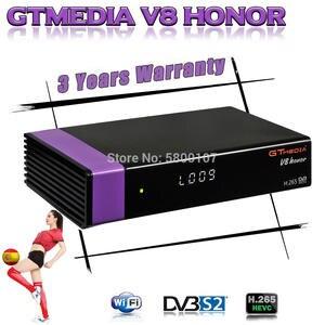 Satellite-Receiver NOVA Gtmedia V7s Honor V9 Super DVB-S2 Built-In-Wifi HD Same as Full-Hd