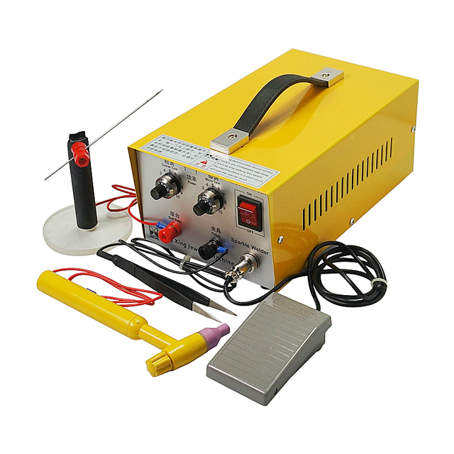 DX 30A handheld laser spot welder laser welding machine with tungsten needle for Soldering Jewelry