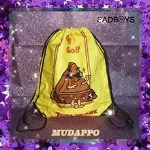 2019 Hot Man and women solid drawstring bag large capacity storage fashion portable sport travel bags