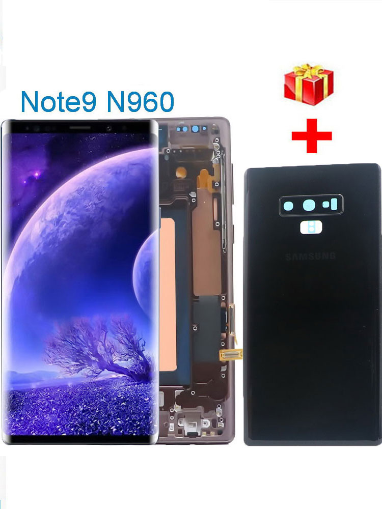 note9 display n960d n960f display lcd de toque digitador da tela