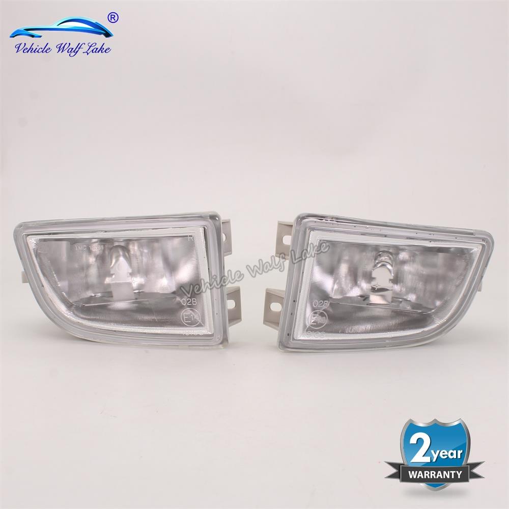 2pcs Fog Lamp For Skoda Fabia Sedan Combi 1999 2000 2001 2002 2003 2004 Car-styling Front Fog Light Fog Lamp With Bulbs