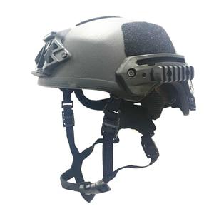Image 4 - DEWBest Ballistic ACH High  2021 years Tactical Helmet Bulletproof FAST Aramid Safety NIJ Level IIIA Military Army A TACS