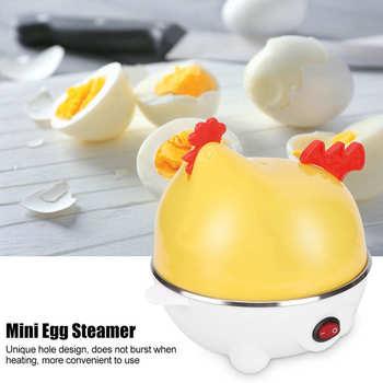 Egg Steamer 6 Eggs Chicken Shaped Microwave Cooker Egg Boiler Kitchen Cooking Appliances 220V 350W