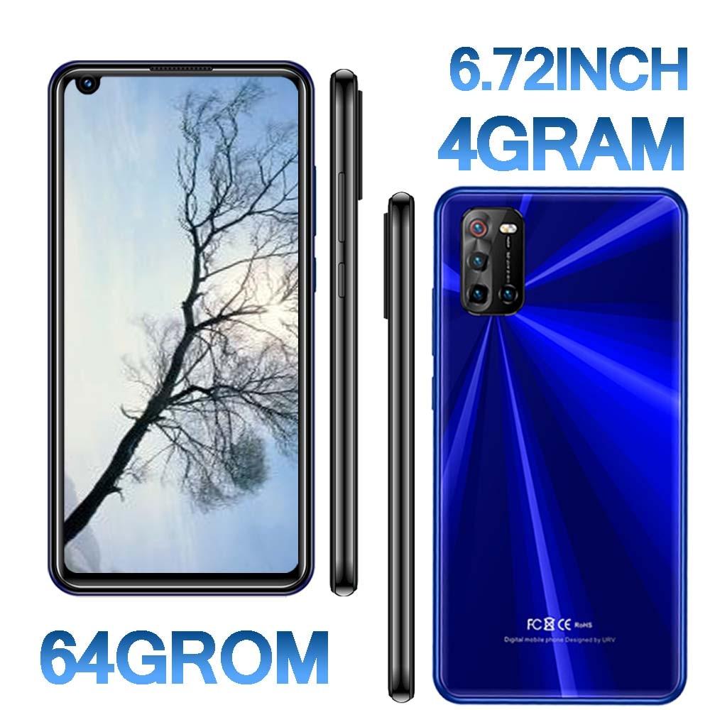 Смартфоны 5i Pro 6,72 дюймов Экран 4G Оперативная память + 64G Встроенная память 8MP + 13MP прочная защитная пленка/задняя Камера Android мобильных телефон...