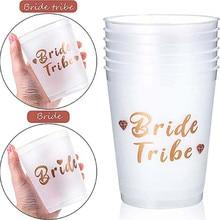Decoração para festa de noiva ou festa, copo divertido para decoração de casamento, copo de noiva ou festa única c