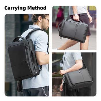 Mark Ryden Travel Backpack Large Capacity Teenager Male Mochila Anti-thief Bag USB Charging 15.6 inch Laptop Backpack Waterproof