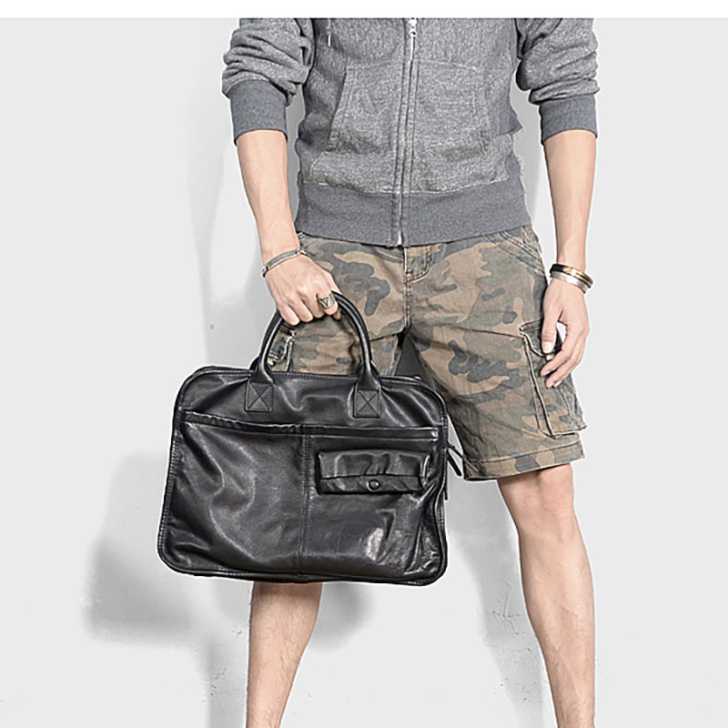 planta bronzeamento couro maleta, bolsa de computador