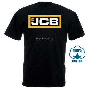 Men T Shirt Jcb Logo Fashion Print Casual Funny T-Shirt Novelty Tshirt Women
