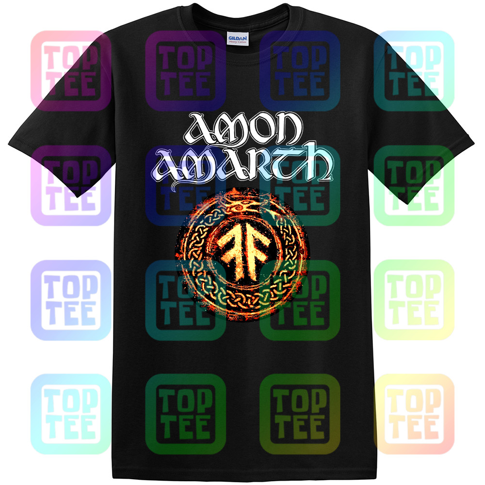 Amon Amarth The Pursuit Of Vikings T-Shirt Black