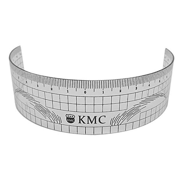 Microblading Reusable Makeup Brow Measure Eyebrow Guide Ruler Permanent Tools (Gray 01) 1
