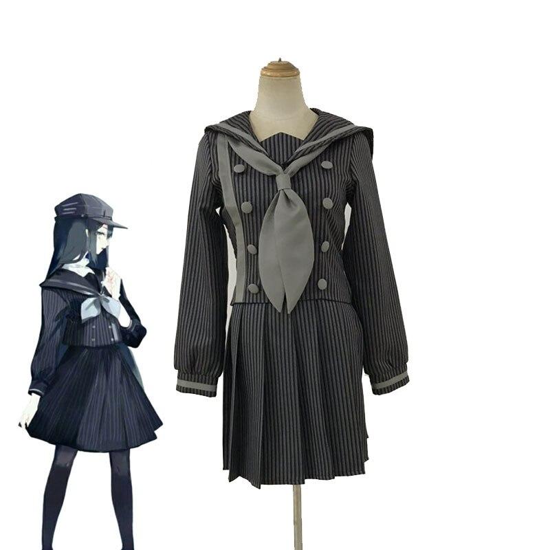 Anime danganronpa cosplay saihara shuichi cosplay trajes meninas uniforme escolar dangan ronpa trajes de halloween para mulher cs258
