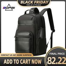 BOPAI grand sac à dos de voyage, pour hommes et femmes, sacs de voyage en week end, 15.6 17 pouces, sac pour ordinateur portable, avec porte clé