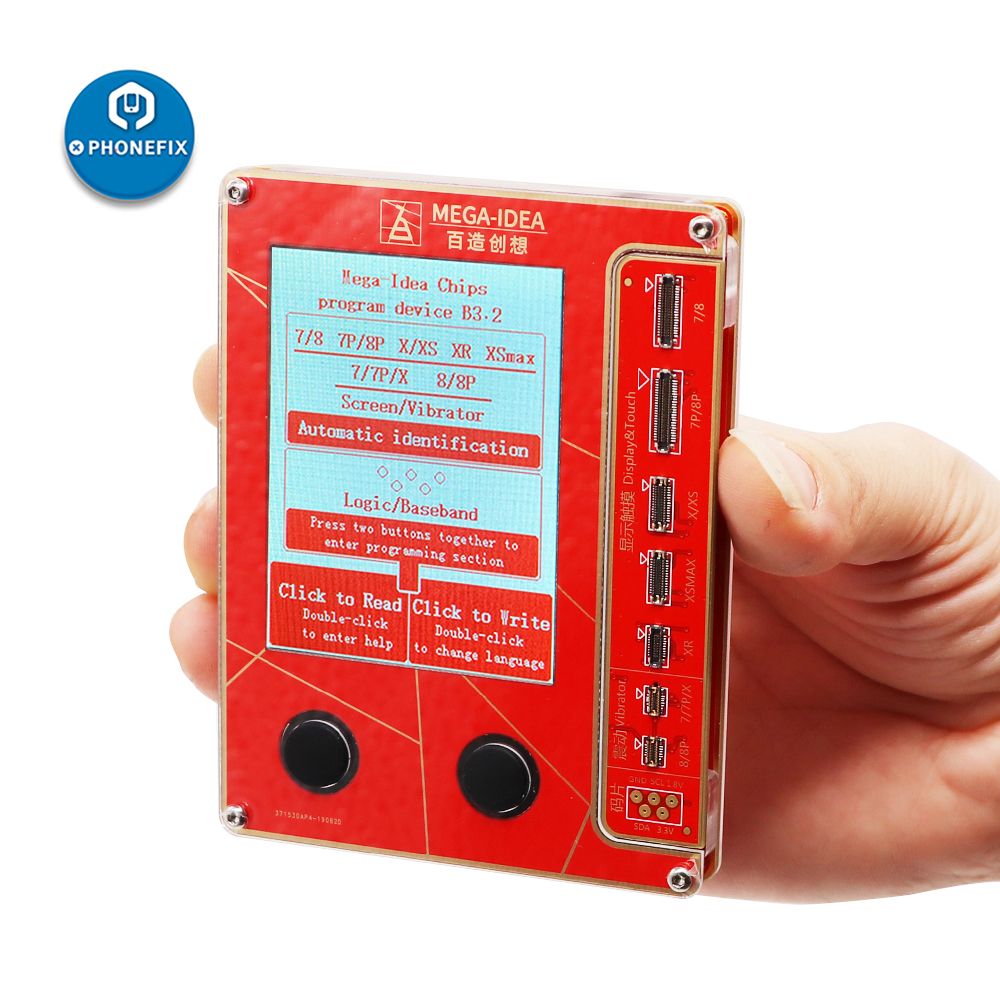 QianLi Mega-Idea Phone LCD Screen Vibration Photosensitive Programmer For IPhone 7 8 XR XS Max 11 Good As Qianli ICopy Plus
