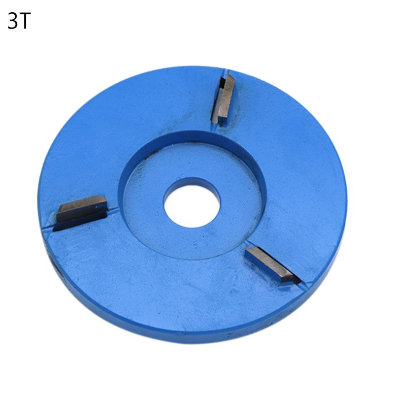3/5/6 Teeth Flat Power Wood Carving Cutter Disc For 16mm Aperture Angle Grinder 448A