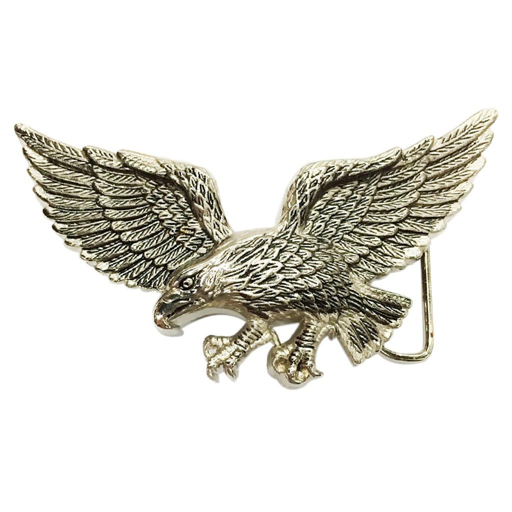 Zinc Alloy Belt Buckle Retro Western Belt Buckle Flying Eagle Buckle For Men