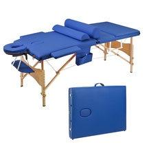 3 секции 185x70x85 см складная кровать для красоты складной