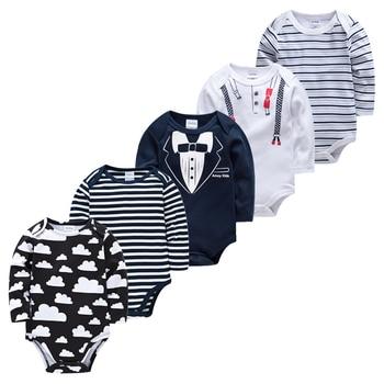 Body de moda para bebé, 5 unidades/lote mono recién nacido, monos de...