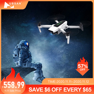Insale Hubsan Zino 2+Plus GPS Latest Syncleas 9KM FPV with 4K 60fps Camera 3-axis Gimbal 35mins Flight Time RC Drone Quadcopter