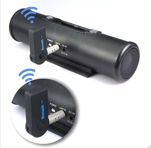 Transmisor receptor inalámbrico Bluetooth 5,0 Adaptador 2 en 1 Jack de 3,5mm para Audio de música de coche Aux A2dp auricular Reciever manos libres