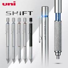 1 pçs japão uni M5-1010 desenho lápis mecânico estudante arte fina chumbo semi metal baixa gravidade esboço lápis 0.3/0.5/0.7/0.9mm