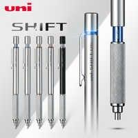 1pcs Japan Uni M5-1010 Drawing Mechanical Pencil Student Fine Art Lead Semi Metal Low Gravity Sketch Pencil 0.3/0.5/0.7/0.9mm
