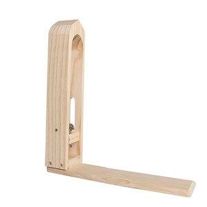 Leder Holz Clamp für Hand Nähen Handgemachte Leder handwerk DIY Werkzeuge Holz Clip Brieftasche Tasche 6 tyeps