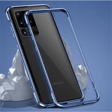 Funda protectora de aluminio para Samsung s20