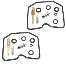 Kit de réparation de carburateur Carb 2 pièces de reconstruction pour Kawasaki EN450 454 LTD EN 500 1985-1990 EN500 1990-1994
