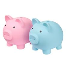Banks-Toys Money-Boxes Coins Piggy Kids Small Cartoon Table Pig-Shape Home-Decor Children