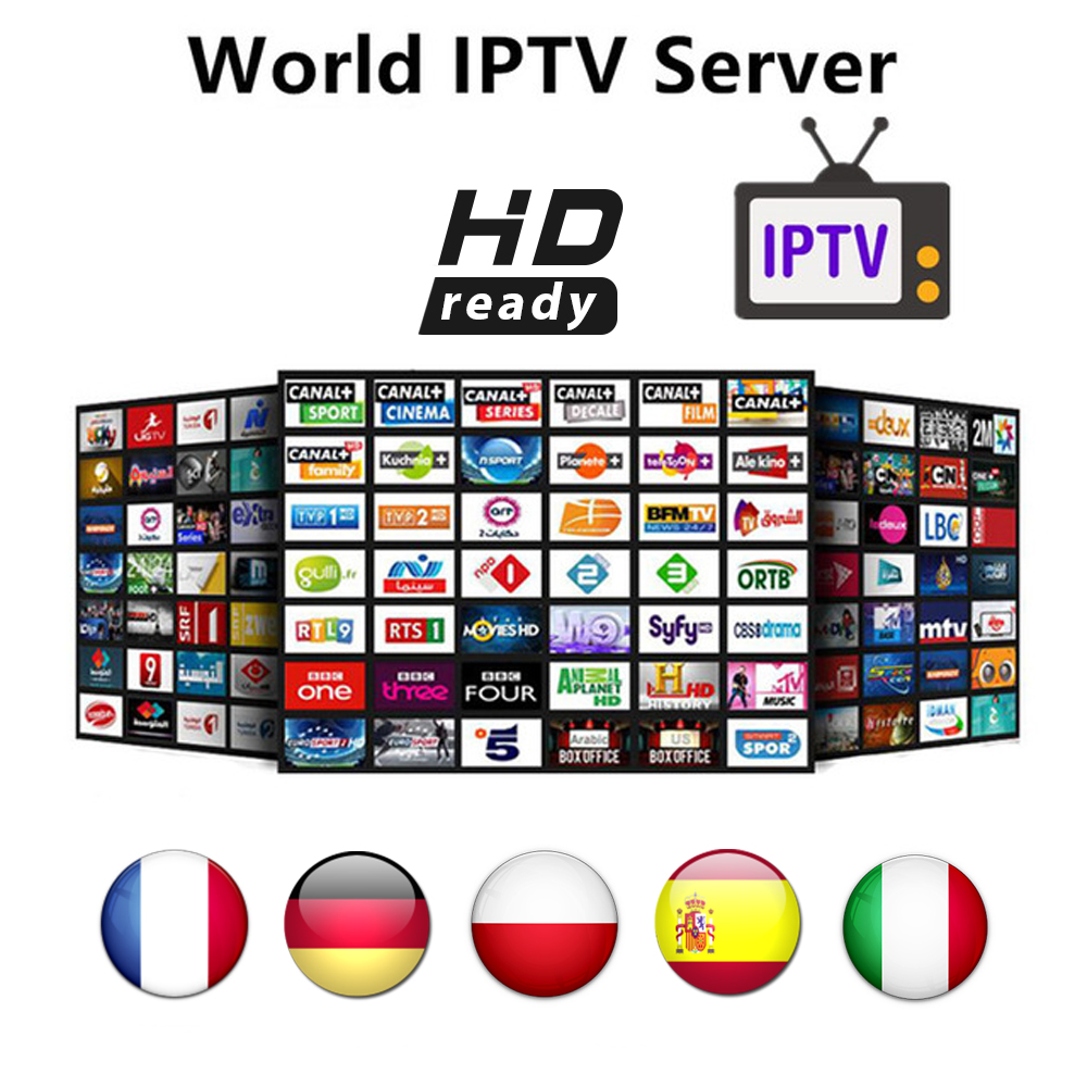 IPTV Subscription M3U Enigma2 IPTV Italy UK Germany Belgium French Romania Channels For Android Box Smart TV G1 Mi Android Box