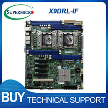 Per Supermicro X9DRL-iF c602 LGA2011dual x79 scheda madre mining server workstation schede madri PC accessori per Computer