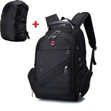 35L Outdoor Tactical Backpack Camping Climbing Rucksacks Waterproof Sports Bag + Dustproof Rain Cover Hiking Trekking Hunting