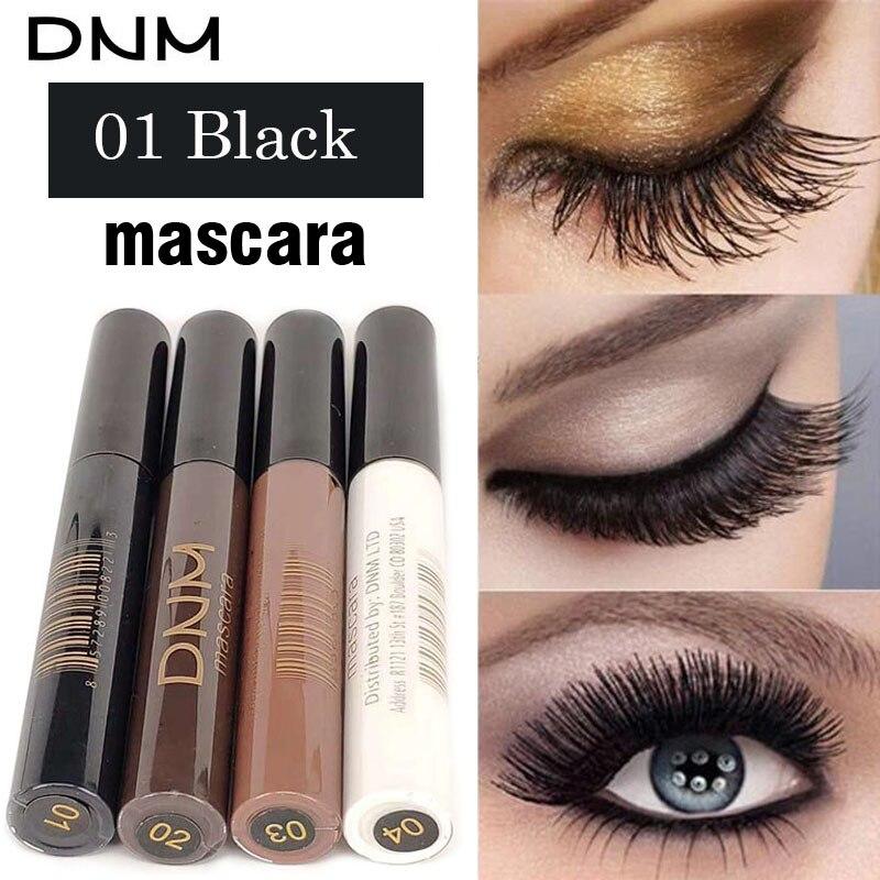 4 Colors Mascara 4D Curling Volume Eyelash Extensions Makeup Eyelash Lengthening Maskara Make Up Black/Brown/Coffee/White