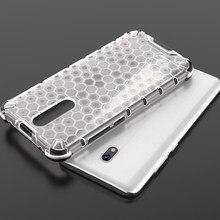Caso de telefone à prova de choque armadura capa para xiaomi redmi 8a caso híbrido silicone duro pc capa transparente em redmi 8a funda caso capa