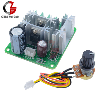 15A 6V-90V Voltage Regulator DC Motor Speed Controller 6V 12V 24V 36V 48V 72V 90V PWM Power Regulator Governor Switch Soft Start image