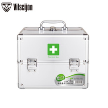 Family Medicine Box Multi-layer Outpatient Medicine Box Vilscijon Household Child Size Medicine Box Emergency Storage Box 3354 все цены