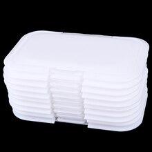 5 шт./компл. многоразовая крышка детские салфетки крышка детские влажные салфетки крышка Портативные Детские влажные ткани крышка коробки влажные салфетки влажная Крышка для салфеток