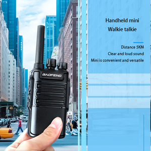 Walkie Talkie Dual Band Handheld Two Way Ham Radio Communicator HF Transceiver Amateur Handy Walkie-talkie