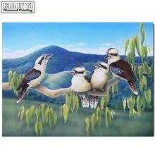 5d diy Алмазная вышивка птица полная квадратная круглая фотоалмазная