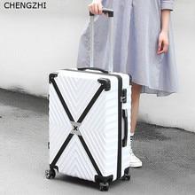 """CHENGZHI 2"""" 24"""" 2"""" 28 дюймов высокая емкость Алюминиевая Рама чемодан на колёсиках, чемодан на колесиках для мужчин и женщин, дорожная сумка на колесиках"""