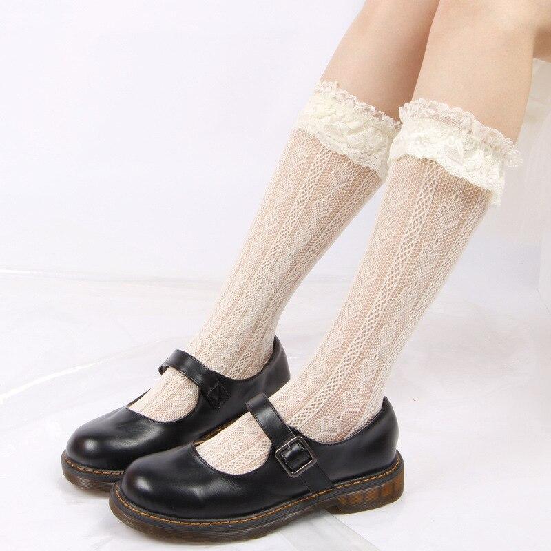 Japanese Lolita Style School Uniform Stocking Women's Sock Cosplay Stockings Lolita Socks Super Heroes Halloween Stockings