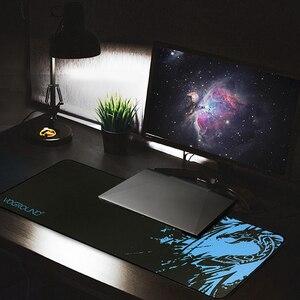 (S m l)-almofada do rato do jogo para o teste padrão ótico do dragão dos ratos do laser esteiras