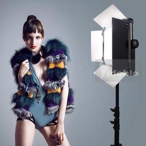 Image 1 - Светодиодное освещение 120 Вт для студийной видеосъемки интервью фотосъемки теплый и холодный цвет фотостудия Светодиодная лампа