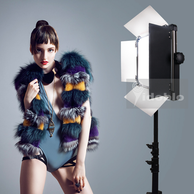 120W LED Continue Lighting Studio Lights For Video Interview Photography Shooting Warm & Cold Color D 1500II Pro Studio LED lamp