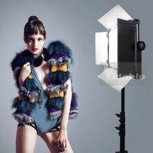 120W Tiếp Tục Chiếu Sáng Đèn Studio Cho Video Phỏng Vấn Chụp Ảnh Chụp Hình Ấm Lạnh Màu D 1500II Pro Studio LED đèn