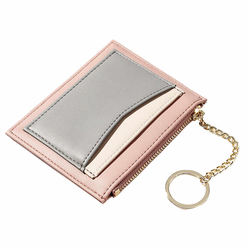 CONEED Wallet Women Purse Fashion Wallets Mini Money Purses Small Fold Female Coin Multicolor Purse Women's Wallets Cute